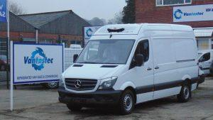 Mercedes Sprinter Refrigerated Van and fridge van rental