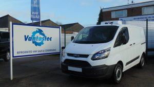 Ford Custom fridge van rental with Overnight Standby