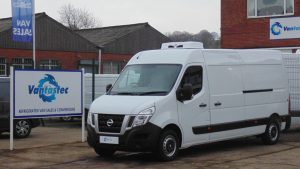 Nissan NV400 Fridge Van rental