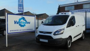 ford custom fridge van rental