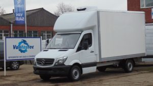mercedes fridge van rental