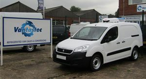 Peugeot Partner Fridge Van rental