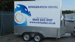 refrigerated trailer hire and fridge van rental