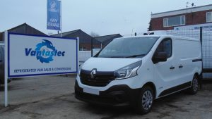 renault trafic fridge van rental