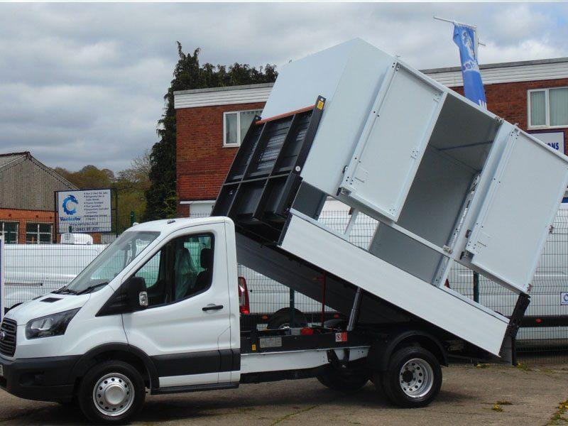 tipper and dropside van conversions