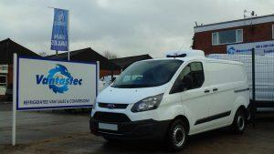 Ford Transit Custom Fridge Van