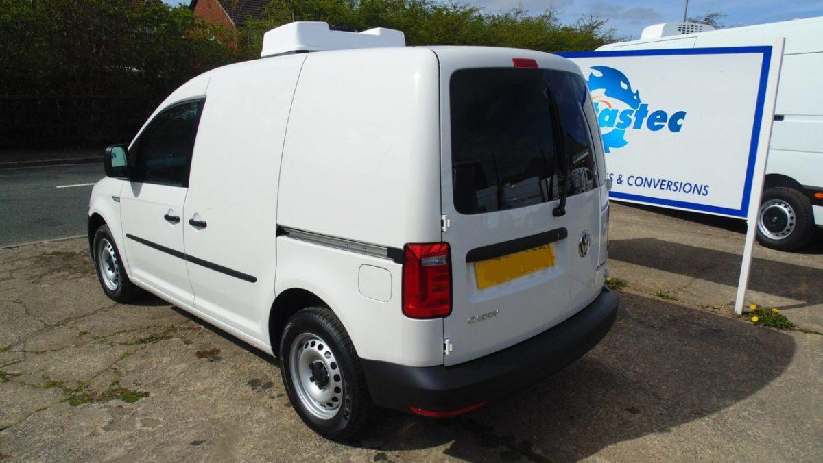 VW Caddy Fridge Van Full
